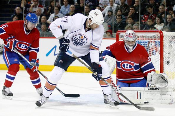 Dustin+Penner+Edmonton+Oilers+v+Montreal+Canadiens+e0wKOJ1phOal